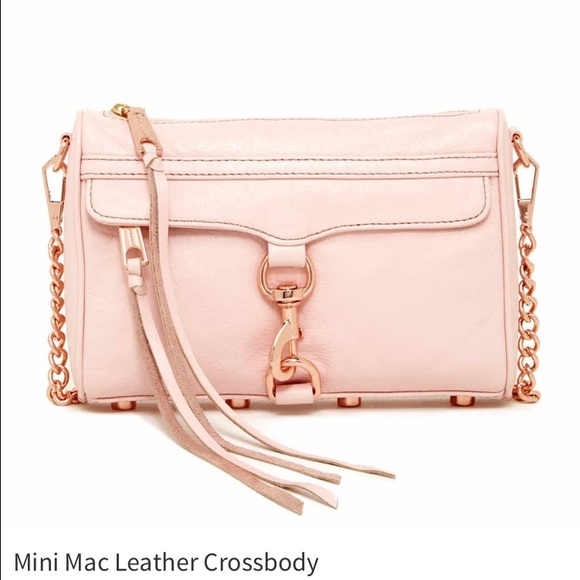 Rebecca Minkoff Handbags - RM Mini Mac Leather Crossbody