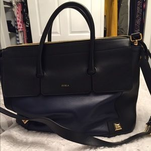 Furla Black/Navy bag