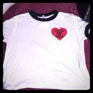Tops - TShirt Cropped SOLD SOLD
