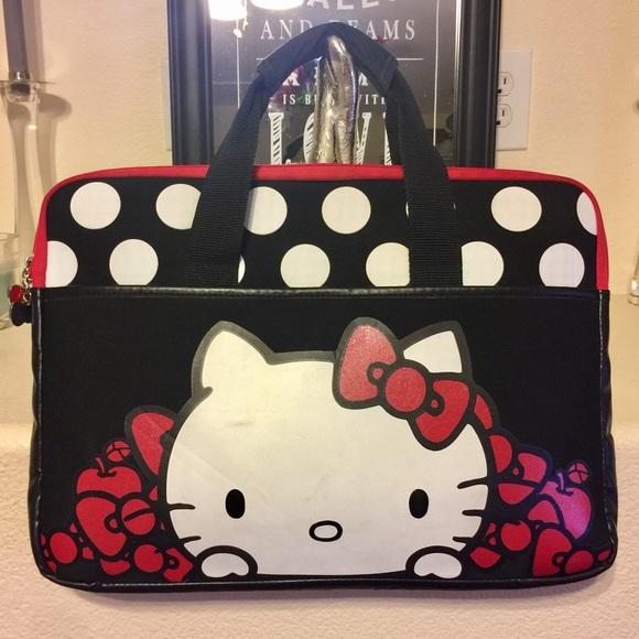 bab734d4a Hello Kitty Handbags - 🔴FINAL SALE🔴 Hello Kitty 15 inch Laptop Bag