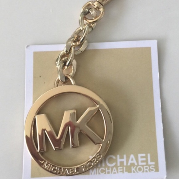 b03d151fe434 New Michael kors golden keychain or bag charm. M_582c7468522b454fbd03f0c5