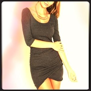 Dresses & Skirts - 3/4 sleeves cotton mini dress
