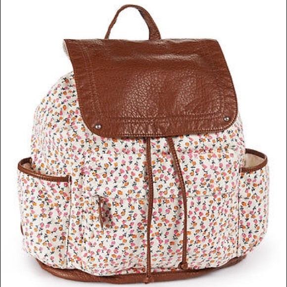 62471d6a64 Aeropostale Canvas Backpacks Ditsy, NEW NWT NWT