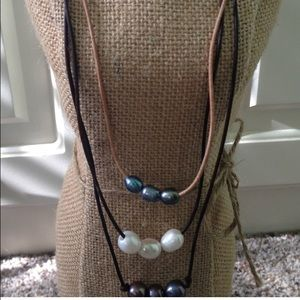 3 pearl pearl necklaces