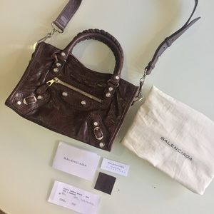 Balenciaga Handbags - 🦂AUTHENTIC Balenciaga Classic Mini City Cross