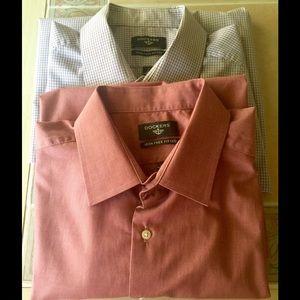 Dockers Other - Dockers Iron Free Dress Shirt Bundle, 17  32/33