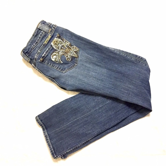 Miss Me - Miss Me Jeans Size 30 Fleur de Lis Pockets from Dahlia ...