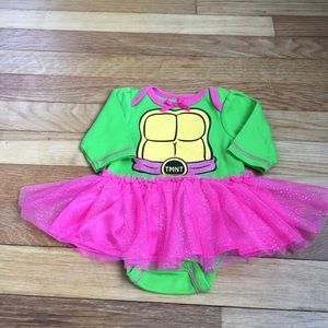 Nickelodeon Other - TMNT ONESIE WITH TUTU