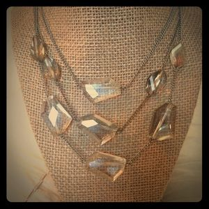•KENNETH COLE• faceted necklace