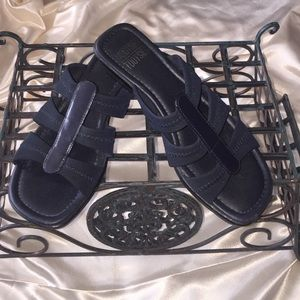 Mootsies Tootsies Shoes - FINAL MARKDOWN Mootsie Tootsies navy blue sandals