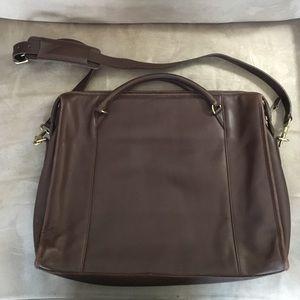 Coach Handbags - Coach vintage women's brown leather briefcase
