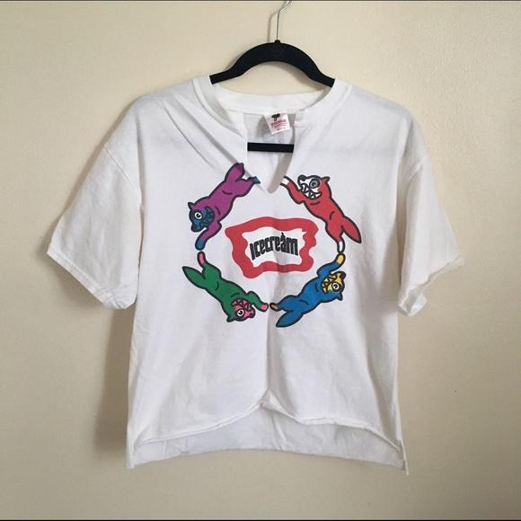 ae0a7b0d49a Billionaire Boys Club Tops - Distressed BBC Ice Cream T-Shirt