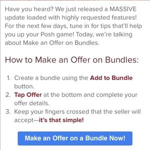 Other - MAKE OFFERS ON BUNDLES