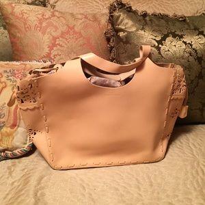 Francesco Biasia Handbags - NWOT Francesco Biasia beautiful tan handbag.