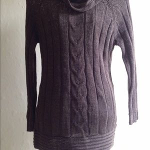 Vintage Oversized Brown Sweater