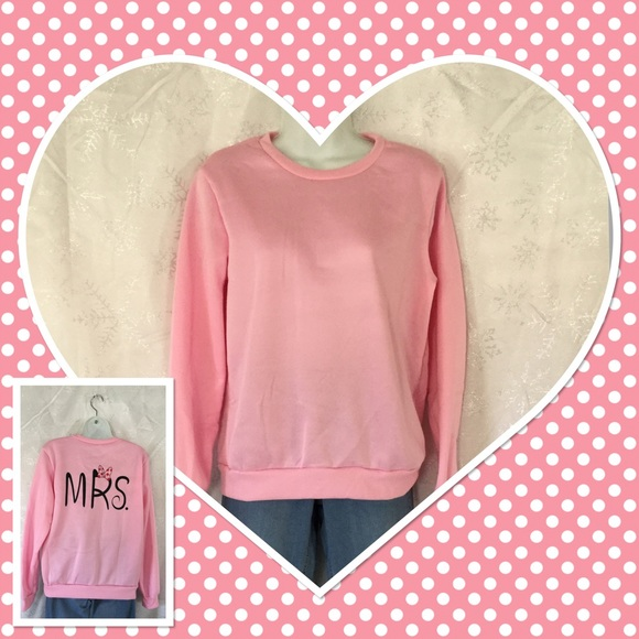 Boutique Tops - Pink Sweatshirt NWOT 💕