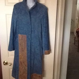 Size S Paola Casalini  long coat made in Italy