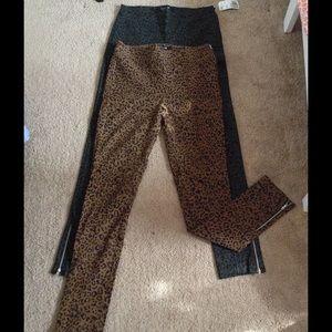 *Bundle* Leopard print pants