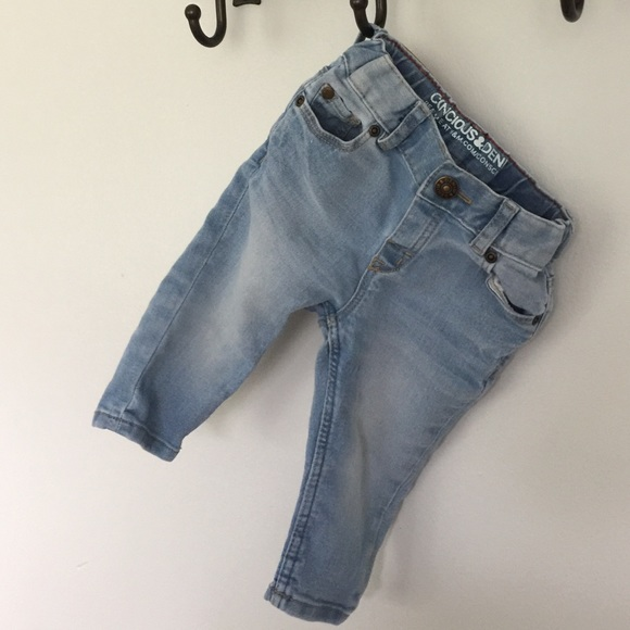4f388114f H&M Bottoms | Light Blue Hm Baby Boy Jeans | Poshmark