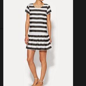Pim + Larkin striped drop waist dress