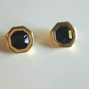 Swarovski Jewelry - Hexagon Swarovski Crystal Earrings