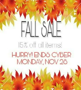 Tops - FALL SALE 15% OFF ALL ITEMS!