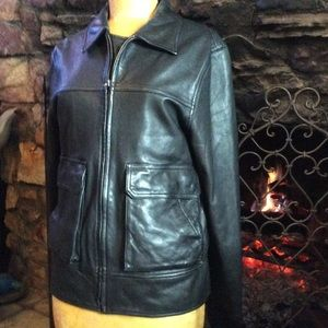 Vince. leather jacket. Gorgeous!