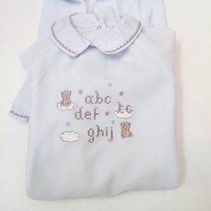 Tartine et Chocolat Other - Tartine et Chocolat velour infant onesie 18 month