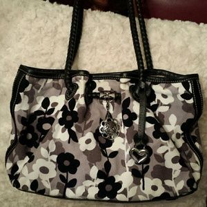 Brighton  Handbags - Brighton Flower Print Shoulder Bag