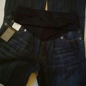 Liz Lange Maternity Jeans Sz 4