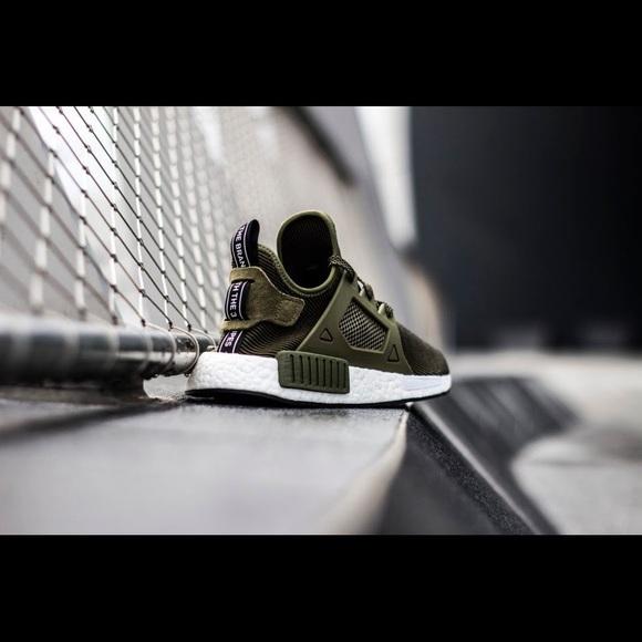 quality design dbbf1 ff19f Adidas Nmd Xr1 Olive