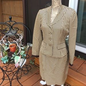 Kay Unger Other - KAY UNGER VTG WOMEN'S HOUNDSTOOTH SUIT 6