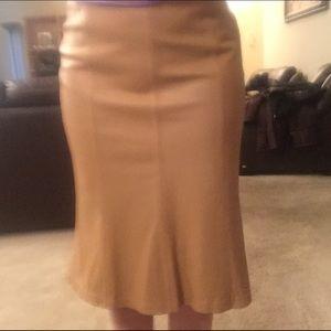 Kasper Dresses & Skirts - 🔥🔥BEST OFFER🔥100%Genuine LEATHER  Mermaid Skirt