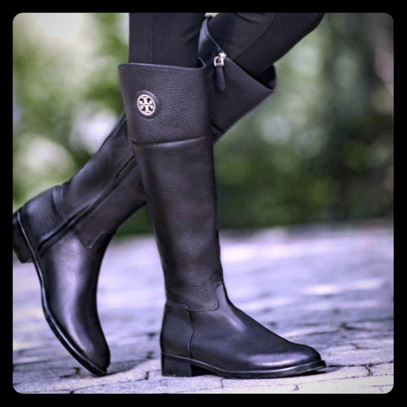 tory burch wide calf boots