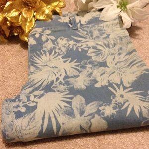 Dorothy Perkins Denim - Floral Jeans