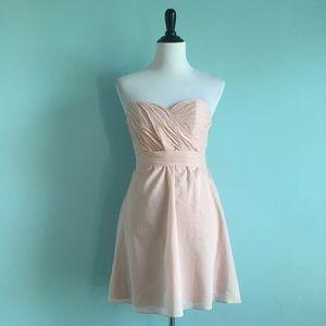 Express Blush Sweetheart Dress