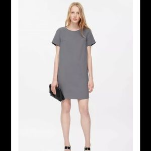 COS Straight Cut Shift Dress Capsule Minimal