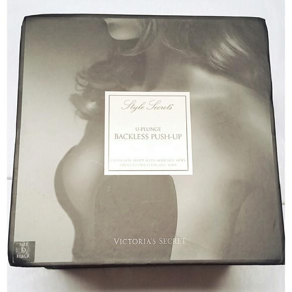 09ff0f3080c1e Victoria s Secret U-Plunge Backless Push-up Bra D