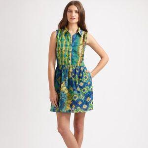 Wren Dresses & Skirts - NEVER WORN beautiful silk cotton tie dye dress