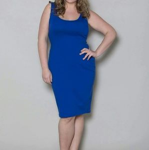 SWAK Dresses & Skirts - Royal blue tank dress. New without tags