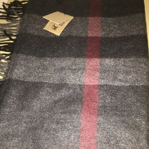 Burberry Other - NWT Men's Burberry Cashmere Scarf