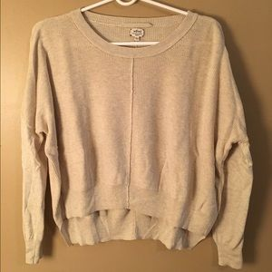 Wilfred Taupe Bone Sweater XS