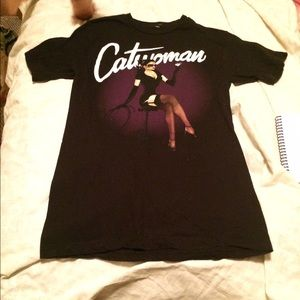 Hot Topic Tops - Catwoman shirt small