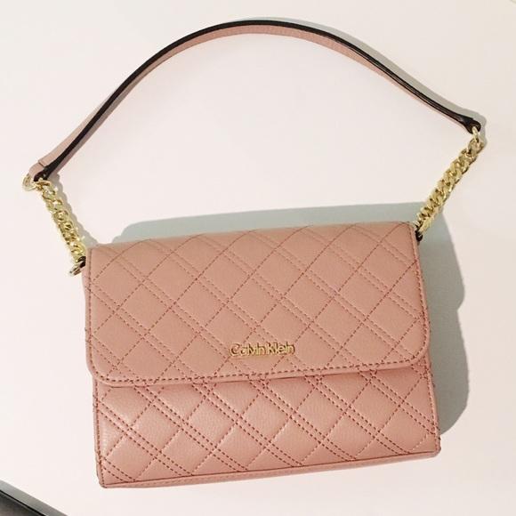 18fdb96d2c1 Calvin Klein Handbags - *NEW* Calvin Klein Quilted Pebble Shoulder Bag