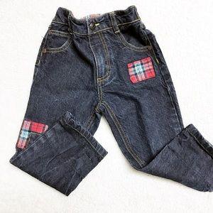 24m Oshkosh patchwork jeans