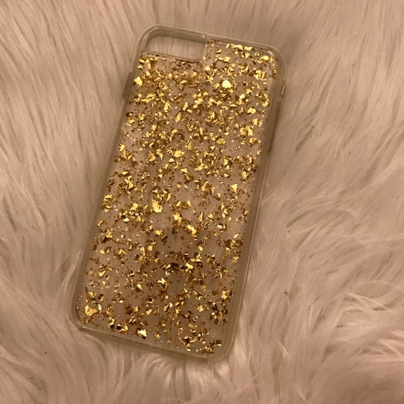 check out 7620d 96ceb iPhone 6 Plus: gold flake iPhone case