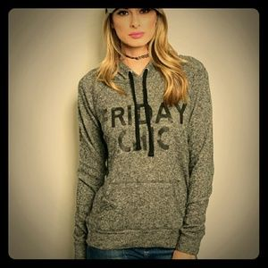 🎉HP x 2🎉S LEFT😎 FRIDAY CHIC HOODIE