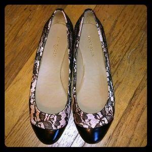 Ann Taylor Lace Flats