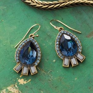 Silpada Blue Streak Earrings