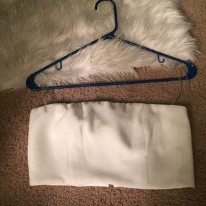 Tops - White tube top